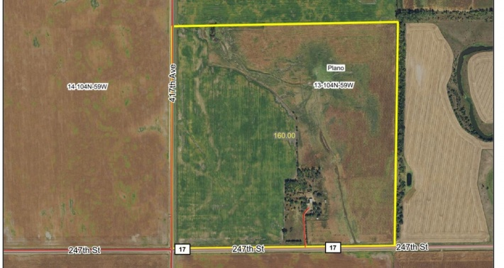 HANSON COUNTY LAND SALE PENDING +/- 160 acres