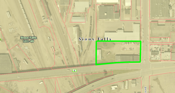 DOWNTOWN SIOUX FALLS REDEVELOPMENT SITE AUCTION! FRIDAY JAN 31ST 10 AM ON-SITE