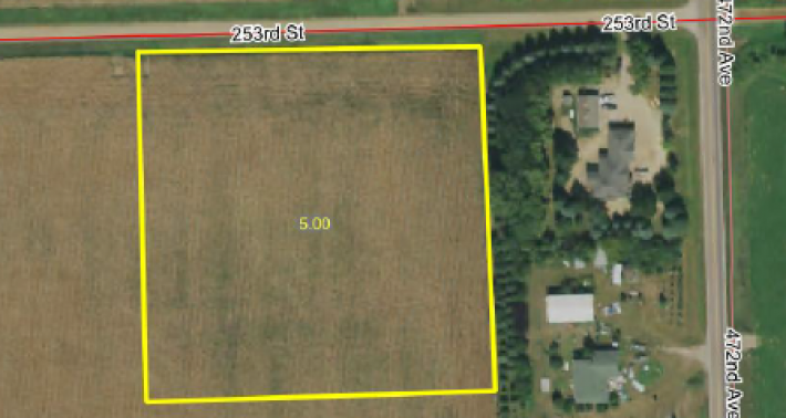 FOR SALE 5 ACRE BUILDING SITE NEAR BALTIC