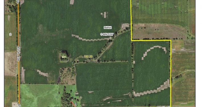 FOR SALE 192.7 ACRES CLAY COUNTY EAST OF WAKONDA